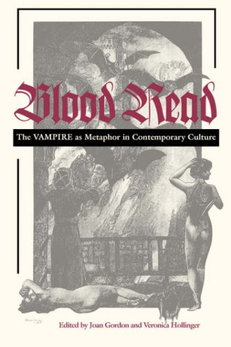 Blood Read The Vampire As Metaphor in Contemporary Culture  1998 edition cover