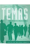 Temas Spanish for the Global Community 2nd 2007 edition cover