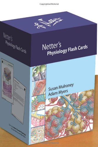 Netter's Physiology Flash Cards  N/A edition cover
