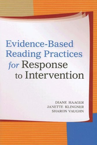 Evidence-Based Reading Practices for Response to Intervention   2007 edition cover