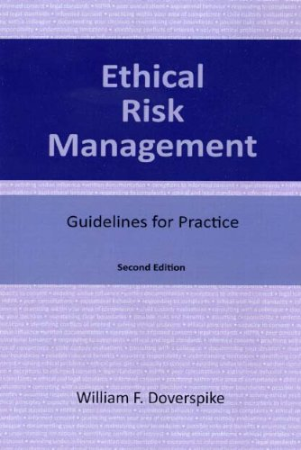 Ethical Risk Management Guidelines for Practice, 2nd Ed 2nd 2012 9781568871288 Front Cover