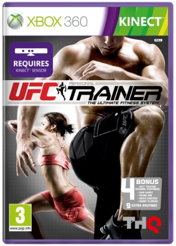UFC Personal Trainer Xbox 360 artwork