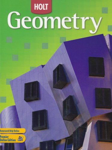 Geometry, Grade 10: Holt Geometry 1st 2006 edition cover
