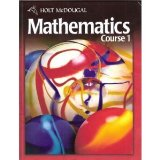Holt Mcdougal Mathematics Student Edition Course 1 2010  2010 9780030994289 Front Cover