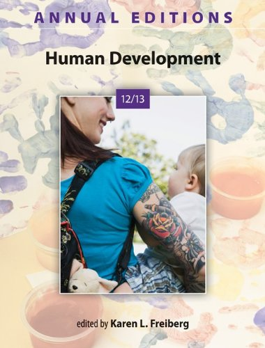 Annual Editions: Human Development 12/13  41st 2013 edition cover
