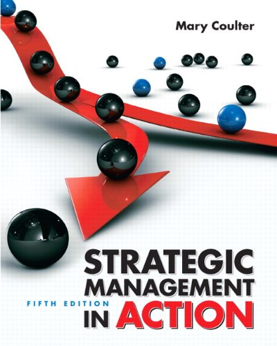 Strategic Management in Action  5th 2010 edition cover