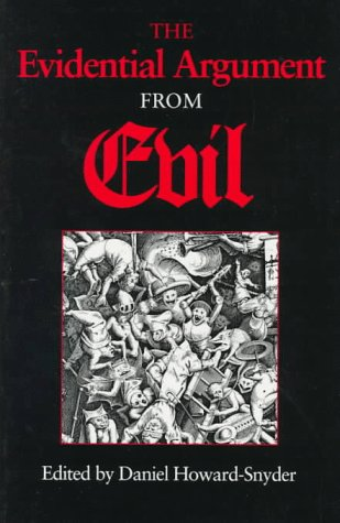 Evidential Argument from Evil   1996 edition cover