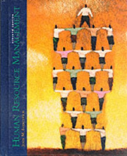 Human Resource Management  7th 1997 9780256235289 Front Cover