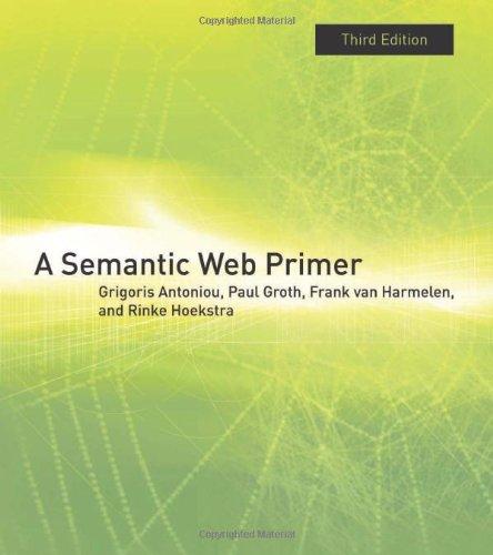 Semantic Web Primer  3rd 2012 edition cover