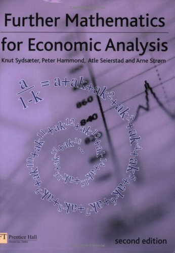 Further Mathematics for Economic Analysis  2nd 2008 edition cover