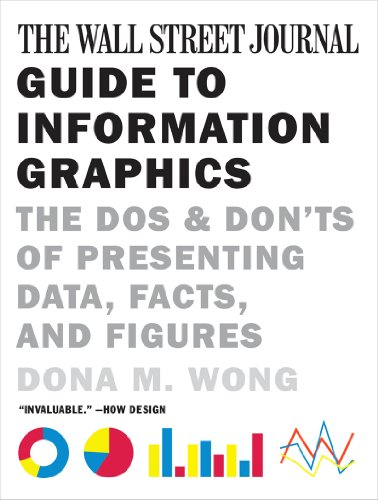 Wall Street Journal Guide to Information Graphics The Dos and Don'ts of Presenting Data, Facts, and Figures  2014 edition cover