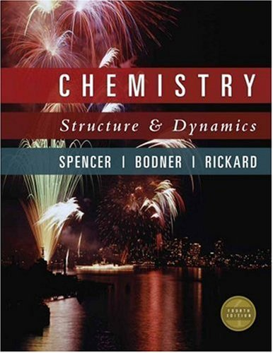 Chemistry Structure and Dynamics 4th 2008 edition cover