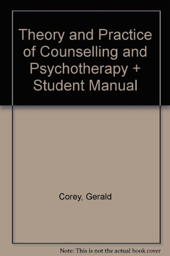 Theory and Practice of Counselling and Psychotherapy + Student Manual  8th edition cover
