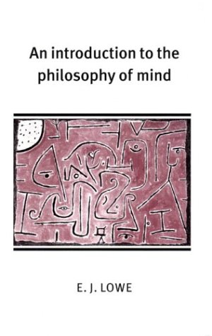 Introduction to the Philosophy of Mind   2000 edition cover