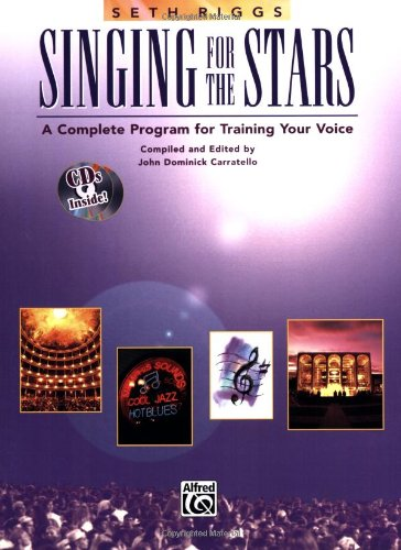 Singing for the Stars A Complete Program for Training Your Voice 5th 1992 (Revised) edition cover