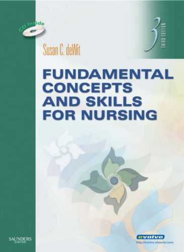 Fundamental Concepts and Skills for Nursing  3rd 2009 edition cover