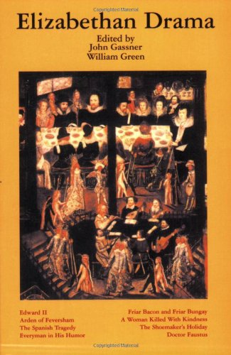 Elizabethan Drama Eight Plays Revised edition cover