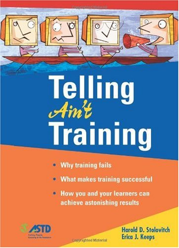 Telling Ain't Training   2002 edition cover