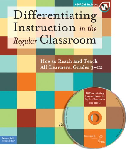 Differentiating Instruction in the Regular Classroom How to Reach and Teach All Learners, Grades 3-12 N/A edition cover