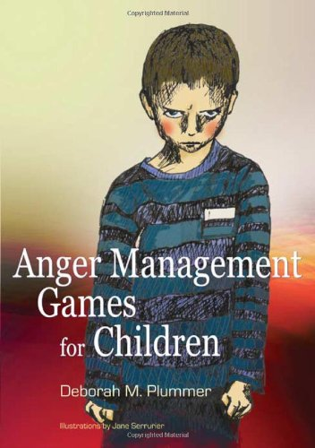 Anger Management Games for Children   2008 9781843106289 Front Cover
