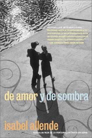 De Amor y de Sombra   1984 9780060951290 Front Cover