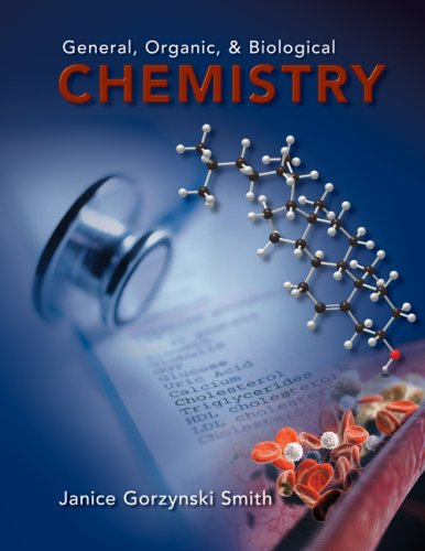 General, Organic and Biological Chemistry   2010 edition cover