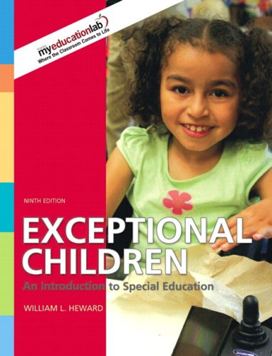 Exceptional Children An Introduction to Special Education 9th 2009 edition cover