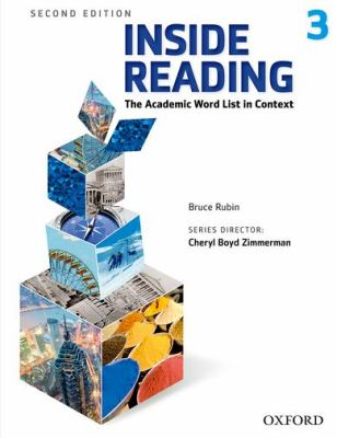 Inside Reading, Level 3 The Academic Word List in Context 2nd 2012 (Student Manual, Study Guide, etc.) edition cover