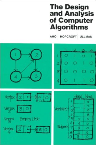 Design and Analysis of Computer Algorithms   1974 edition cover