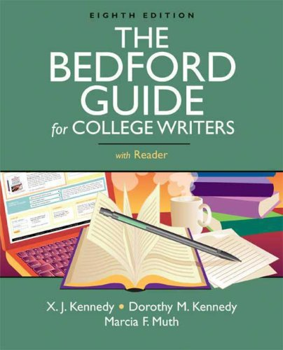 College Writers with Reader 8th 2008 edition cover