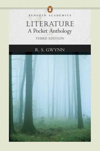 Literature A Pocket Anthology 3rd 2007 (Revised) edition cover