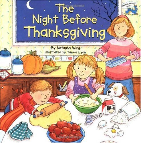 Night Before Thanksgiving   2001 edition cover