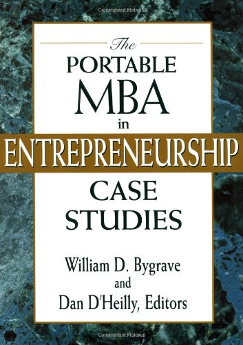 Portable MBA in Entrepreneurship Case Studies  2nd 1997 (Student Manual, Study Guide, etc.) edition cover