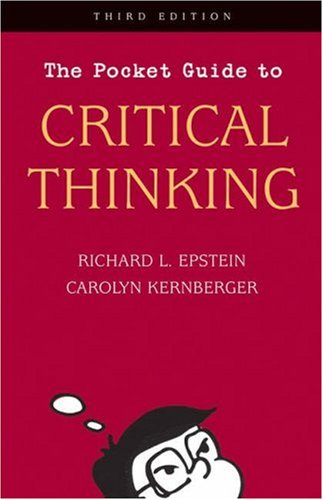 Pocket Guide to Critical Thinking 3rd 2006 (Revised) edition cover