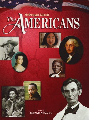 McDougal Littell the Americans, Grades 9-12   2008 (Student Manual, Study Guide, etc.) 9780618916290 Front Cover