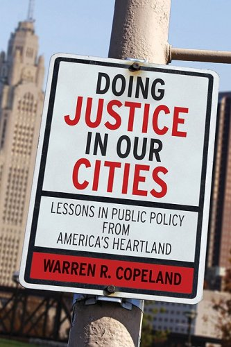 Doing Justice in Our Cities Lessons in Public Policy from America's Heartland  2009 9780664232290 Front Cover