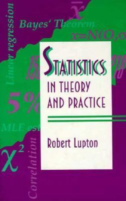 Statistics in Theory and Practice   1993 9780691074290 Front Cover