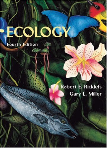 Ecology  4th 1999 9780716728290 Front Cover