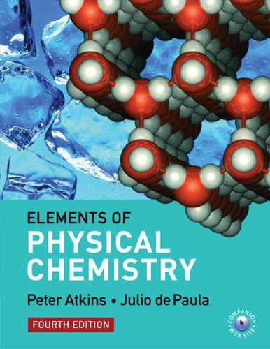 Elements of Physical Chemistry  4th 2005 edition cover