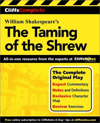Taming of the Shrew   2001 edition cover
