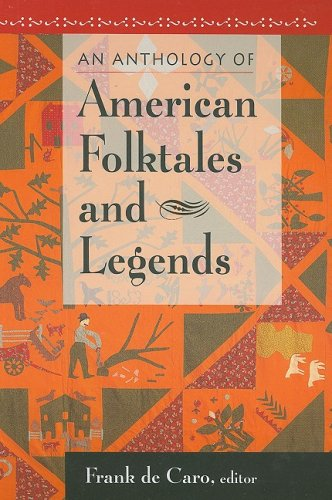 Anthology of American Folktales and Legends   2009 edition cover
