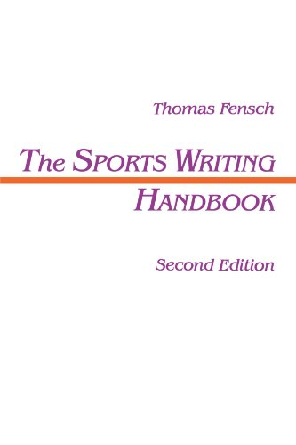 Sports Writing Handbook  2nd 1995 (Revised) 9780805815290 Front Cover