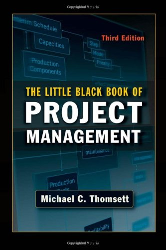 Little Black Book of Project Management  3rd 2009 edition cover