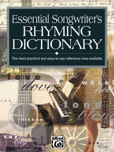 Essential Songwriter's Rhyming Dictionary Pocket Size Book N/A edition cover
