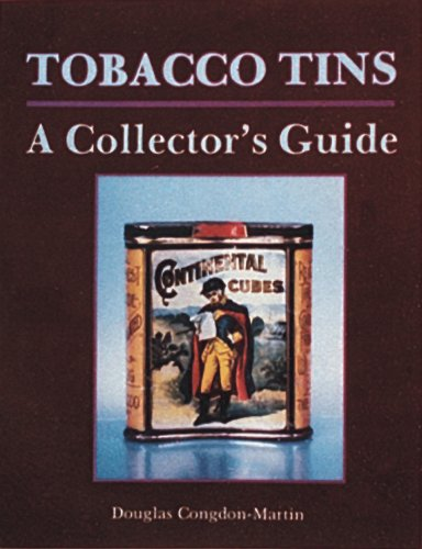 Tobacco Tins A Collector's Guide  2016 9780887404290 Front Cover