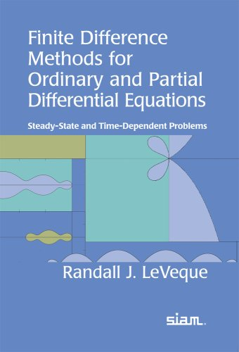 Finite Difference Methods for Ordinary and Partial Differential Equations : Steady-State and Time-Dependent Problems  2007 edition cover