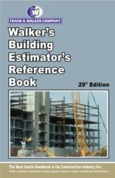 Walker's Building Estimator's Reference Book  29th edition cover