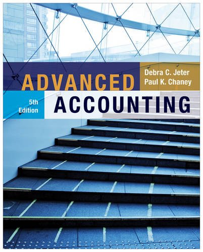 Advanced Accounting  5th 2012 edition cover