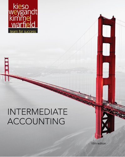 Intermediate Accounting  15th 2013 9781118147290 Front Cover