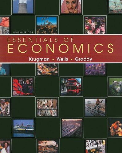 Essentials of Economics  2nd 2010 edition cover
